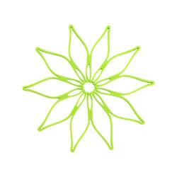 Kochblume Topfuntersetzer Vario, Hitzebeständig bis 230° grün
