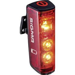 Sigma Fahrrad-Rücklicht Blaze LED akkubetrieben Rot, Schwarz