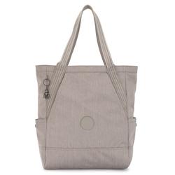 Kipling Peppery Almato Shopper Tasche 30 cm grey beige pep