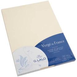 Papier Verge A4 160g/qm VE=50 Blatt elfenbein