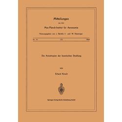 Die Anisotropien der Kosmischen Strahlung als Buch von E. Kirsch