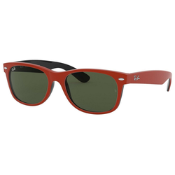 RAY BAN Sonnenbrille NEW WAYFARER RB2132 rot XL