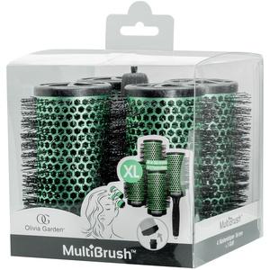 Olivia Garden Multibrush 4er Set 56/75 mm grün