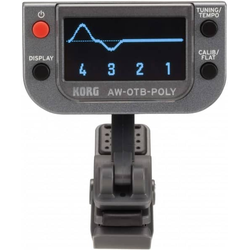 KORG AW-OTB Poly OLED Clip-On Tuner Bass