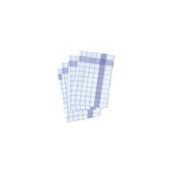 Karlowsky Geschirrtuch, 50 x 70 cm, Geschirrtuch aus 100 % Baumwolle, 1 Packung = 10 Stück, blau