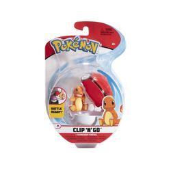 Pokémon - Clip 'n Go Glumanda & Pokéball