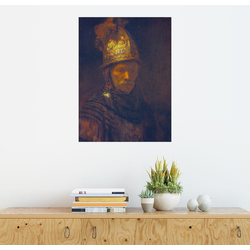 Posterlounge Wandbild, Mann mit dem Goldhelm 30 cm x 40 cm