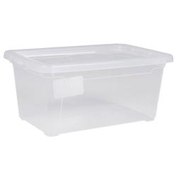 ONDIS24 Aufbewahrungsbox Aufbewahrungsbox Utensilienbox Nähbox Schuhbox Lagerbox Allzweckbox Easy XS mit Deckel, stapelbar