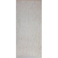 Türvorhang Türvorhang Tonkin Dekovorhang Terassentür Vorhang aus Sorghum Stäben naturbelassen 2x0,9m, CONACORD, elegant schwingend
