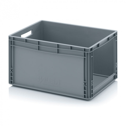 Kunststoffkisten mit öffnung, 600 x 400 x 320 mm