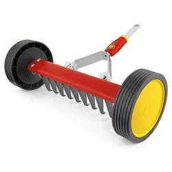WOLF-Garten Gartenpflege-Set Vertikutier Roller UR-M 3 multi-star Vertikutierer 30 cm, mit einem Klick verbinden