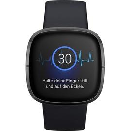 Fitbit Sense carbon/edelstahl graphit
