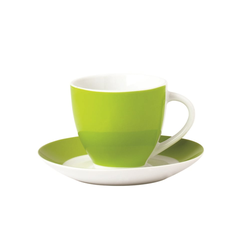 Van Well Untertasse Vario in grün, 14,5 cm