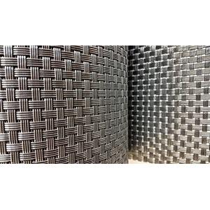 DD 19 cm x 30 m Silber PVC Rattan Sichtschutzstreifen UV-Schutz für Balkon, Gartenanlagen, Camping und Freizeit