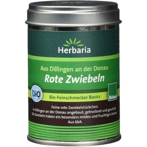 Herbaria Rote Zwiebeln kontrolliert biologischem Anbau, M-Dose (1 x 50 g)