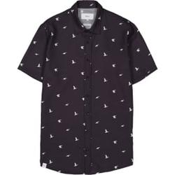 Makia - Ana SS Shirt Dark Blue - Hemden - Größe: XL
