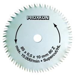 Proxxon Kreissägeblatt Super-Cut, 85 mm, 80 Zähne