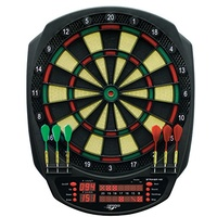 Carromco Elektronik Dartboard Striker-401, mit Adapter 3-Loch Abstand