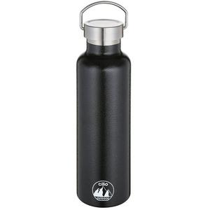 Cilio Isolierflasche Isoliertrinkflasche GRIGIO 750 ml, Isolierflasche schwarz