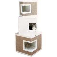 TRIXIE Cat Tower Lilo 46 x 46 x 123 cm weiß