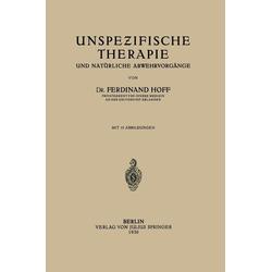 Unspezifische Therapie: eBook von Ferdinant Hoff