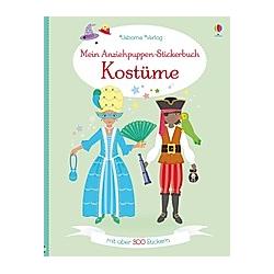 Mein Anziehpuppen-Stickerbuch: Kostüme. Emily Bone  - Buch