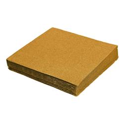Servietten 33 x 33 cm 1/4 -Falz, 3-lagig gold,  20 Stk.
