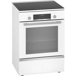 Bosch HLS59D320, Induktionsherd freistehend weiß 60cm Elektro-Standherd Serie 6
