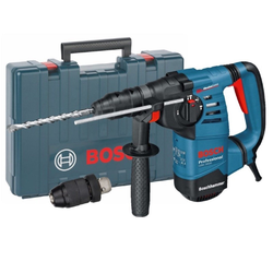 BOSCH Schlagbohrmaschine Bohrhammer Bosch GBH 3000 SDS-Plus (Koffer) 780W, 230 V, max. 900 U/min