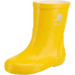 CeLaVi Kinder Gummistiefel Gummistiefel gelb 21