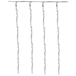 Eiszapfenlichterkette Vorhang Wasserfall-Effekt 1-2 m 220-320 LED - Eiszapfen Lichterkette