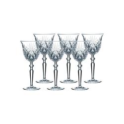 Nachtmann Rotweinglas PALAIS Rotweinglas 6er Set, Glas