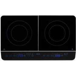 Doppel-Induktionskochplatte MD 15324, Kochplatten, 91969412-0 schwarz schwarz