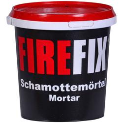 FIREFIX Schamottemörtel 1 kg grau