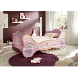 Begabino Prinzessinbett, für kleine Prinzessinen lila Kinder Kinderbetten Kindermöbel Prinzessinbett
