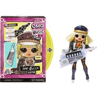 MGA Entertainment L.O.L. Surprise! OMG Remix Rock- Fame Queen and Keytar