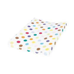 Pinolino® Wickelauflage Bezug für Wickelmulden 'Dots' bunt