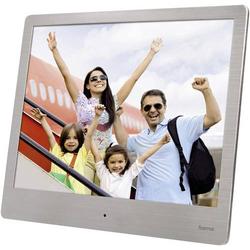 Hama 8SLB Digitaler Bilderrahmen 20.3cm 8 Zoll 1024 x 768 Pixel Silber