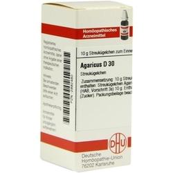 AGARICUS D 30 Globuli 10 g