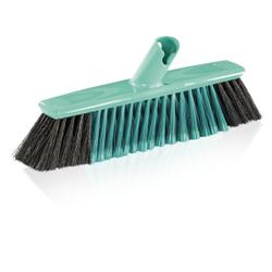 LEIFHEIT Xtra Clean Parkett Besen, Stubenbesen mit neuen innovativen X-Borsten, Breite: 30 cm