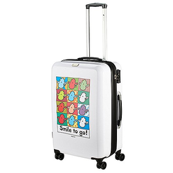 Check In Sheepworld 4-Rollen-Trolley 69 cm - weiß