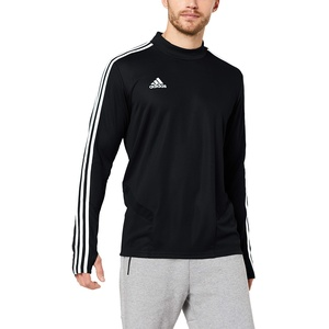 adidas Herren TIRO19 TR TOP Sweatshirt, Black/Granite/White, M