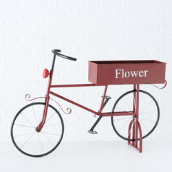 Fahrrad Dalo Eisen rot BOLTZE 1021862 (LBH 87x20x55 cm) BOLTZE