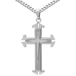 Firetti Kette mit Anhänger Keltisches Kreuz