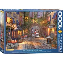 empireposter Puzzle Dominic Davison - Romantisches Frankreich - 1000 Teile Puzzle im Format 68x48 cm, Puzzleteile