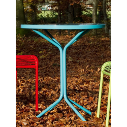 Metalltisch Pix Schaffner AG türkis, Designer Schaffner, 70 cm
