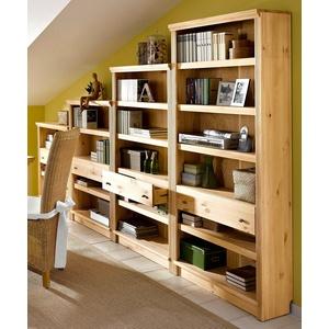 Home affaire Standregal Soeren, Maße: (B/T/H): 80/29/185 cm braun Standregale Regale