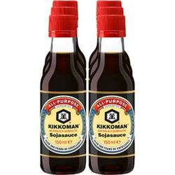 Kikkoman Soja Sauce 150 ml, 6er Pack