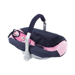 CHIC2000 Puppen Accessoires-Set Puppenzubehör Autositz, rosa