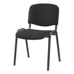 4er-Set Stapelstühle »ISO 4L« schwarzes Gestell schwarz, Nowy Styl, 47.5x45 cm